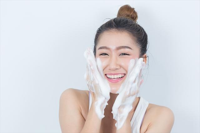 洗顔だけで何もしない